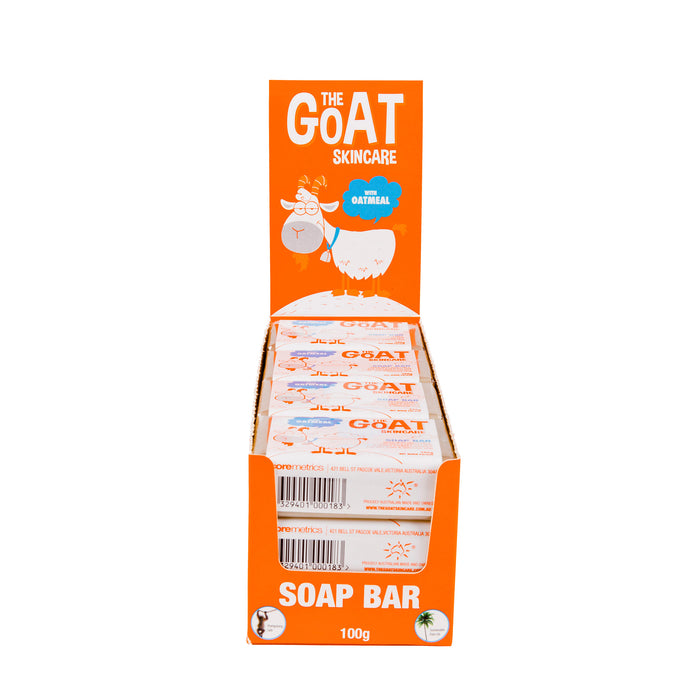 The Goat Skincare Soap Bar with Oatmeal 12x Bars