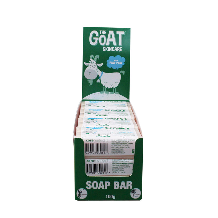The Goat Skincare Soap Bar with Paw Paw 12x Bars