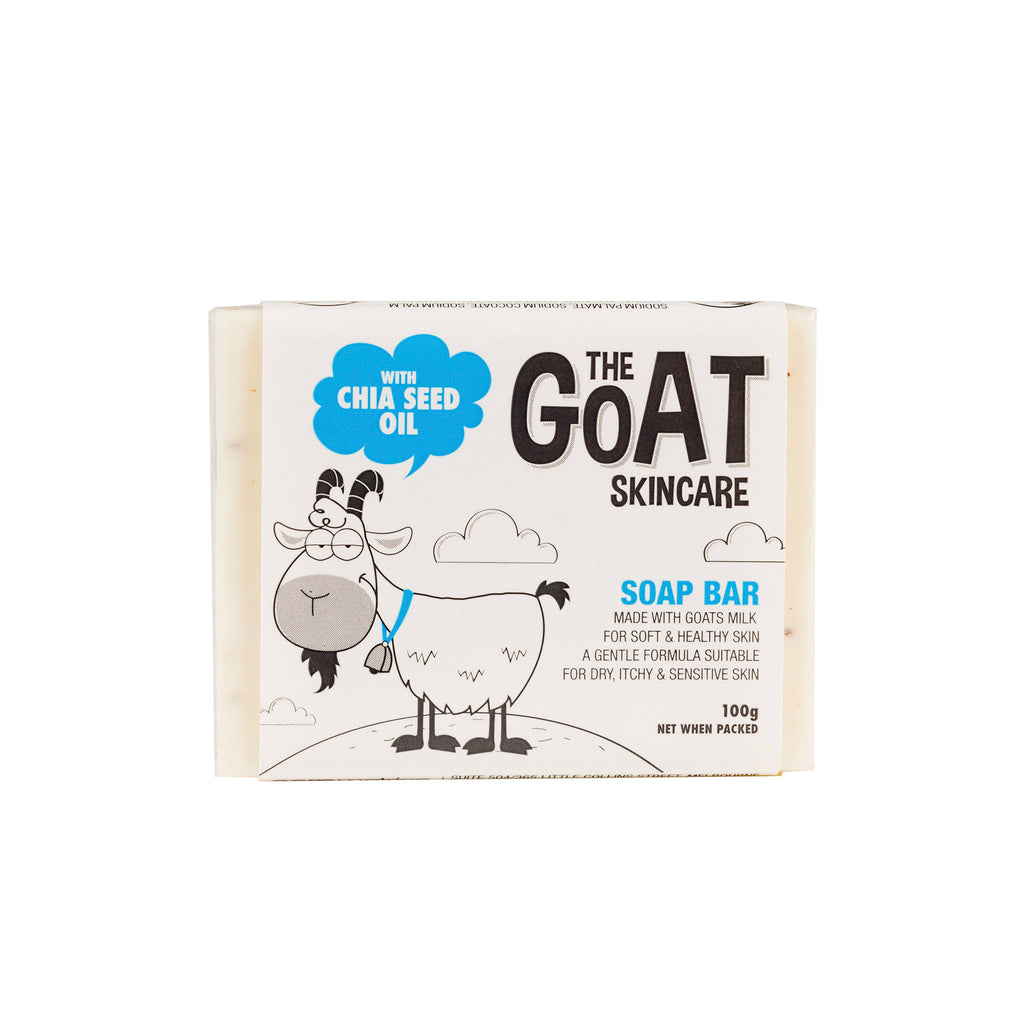 The Goat Skincare Soap Bar with Chia Seed Oil 12x Bars