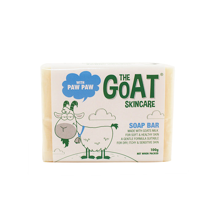 The Goat Skincare Soap Bar with Paw Paw 100g