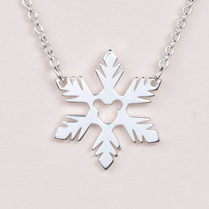 Frozen Fractal Necklace - Silver