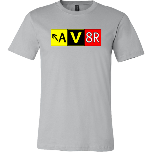AV8R Taxiway Sign - T Shirt