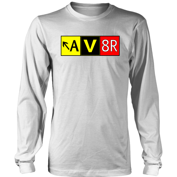 AV8R Taxiway Sign - Sleeve Shirt