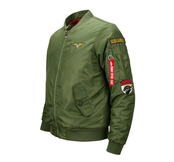 Ma1 Thick Bomber Jacket