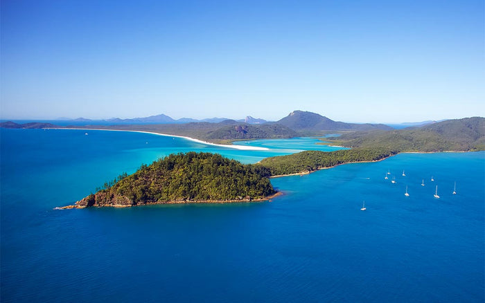 Whitsunday Island Aerial