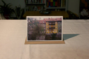 Greeting Card - Ljubljanica River No 4