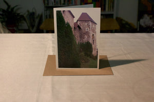 Ljubljiana Castle Greeting Card