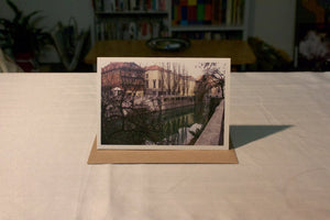 Greeting Card - Ljubljanica River No 3