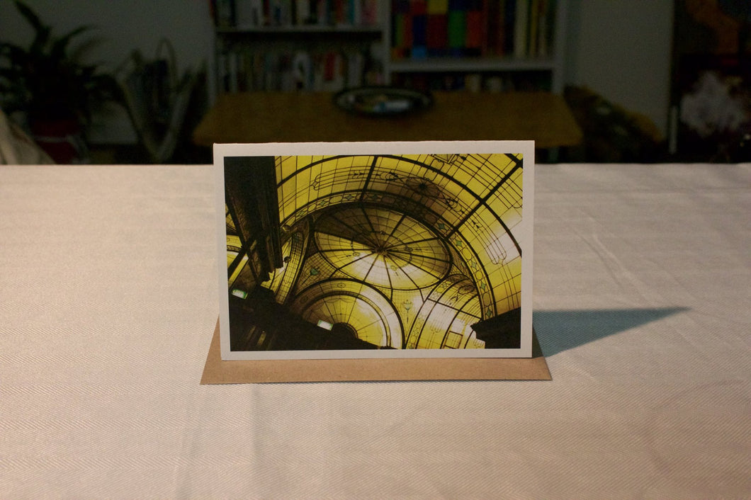 Greeting Card - Nicholas Ceiling