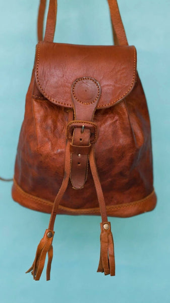 MINI MOCHILA LEATHER BACKPACK BAG
