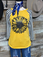 SUNFLOWER RAGLAN