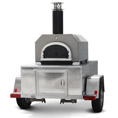 Chicago Brick Oven 750 Tailgater in Silver