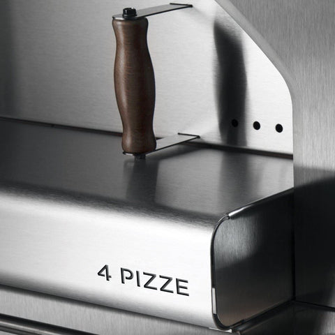 Alfa Forni 4 Pizze Countertop Pizza Oven Door