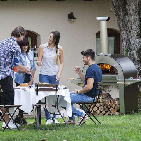 Alfa Forni 4 Pizze Mobile Pizza Oven Outdoor Pizza Party With Friends