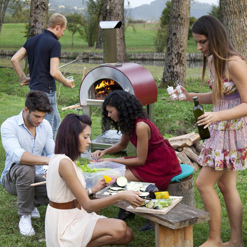 Alfa Forni 5 Minuti Mobile Wood Fired Pizza Oven Outdoor Party