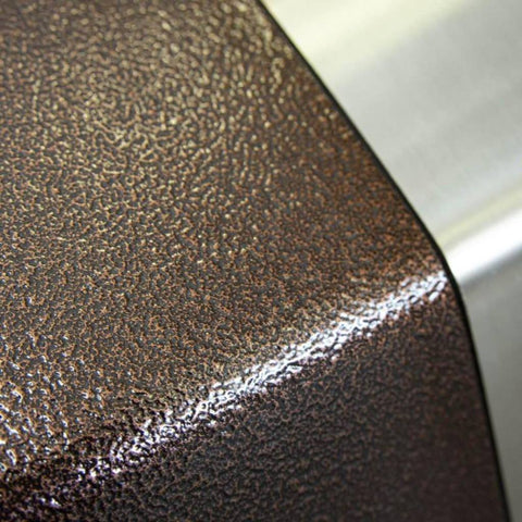 Image of Alfa Stone Gas Pizza Oven Countertop Copper Hammered Finish Close Up View