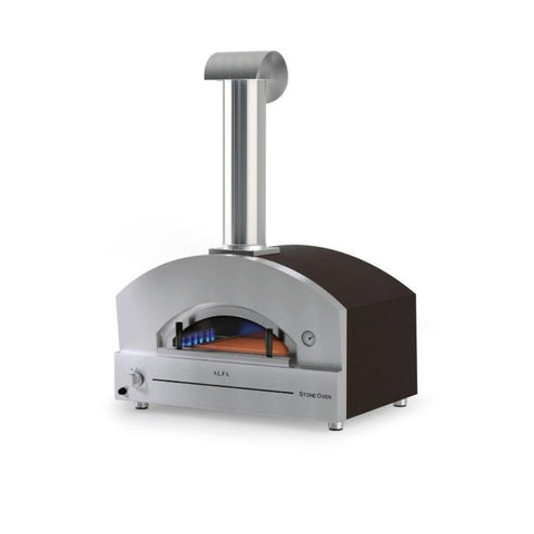 Image of Alfa Stone Gas Pizza Oven Countertop FXSTONE