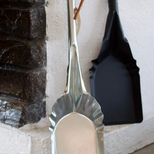 Authentic Pizza Ovens Ash Shovel Next to Pizza Oven