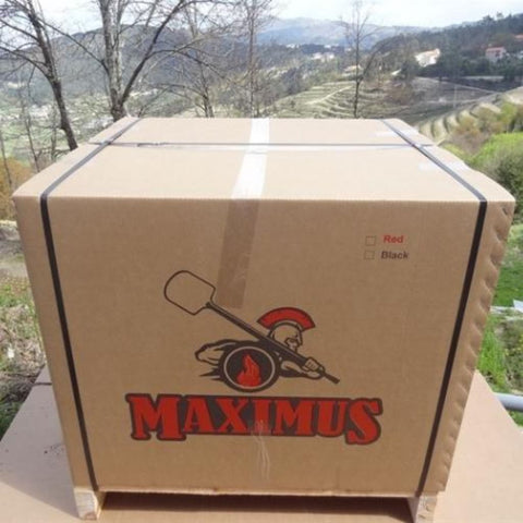 Authentic Pizza Ovens Maximus Arena Countertop Wood Fired Pizza Oven in Box the Oven Ships in Sitting on a Wood Pallet