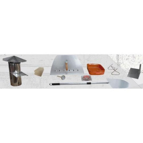 Image of Authentic Pizza Ovens Maximus Arena Countertop Wood Fired Pizza Oven All Accessories Included with Oven Order at Delivery