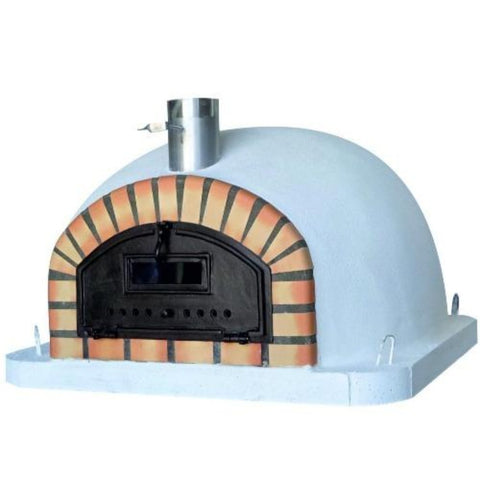 Authentic Pizza Ovens Premium Pizzaioli Built-In or Countertop Wood Fired Pizza Oven PIZPREM