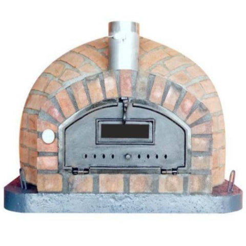 Image of Authentic Pizza Ovens Premium Pizzaioli Rustic Finish Countertop Wood Fired Pizza Oven RUSTPIZPREM