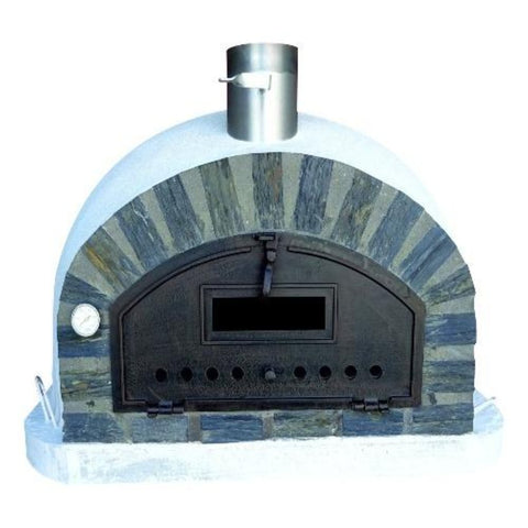 Authentic Pizza Ovens Premium Pizzaioli Stone Arch Countertop Wood Fired Pizza Oven PIZSAPREM
