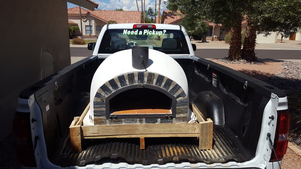 Authentic Pizza Ovens Pizzaioli Stone Arch Built-In or Countertop Wood Fired Pizza Oven APOPIZSA