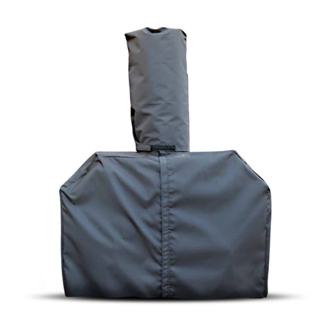 Chicago Brick Oven Heavy Duty Outdoor Cover for Mobile and Freestanding Ovens Close Up View of Cover