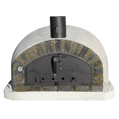 Image of Authentic Pizza Ovens Pizzaioli Stone Arch Built-In or Countertop Wood Fired Pizza Oven APOPIZSA