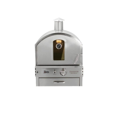 Summerset Built-In or Countertop Outdoor Gas Pizza Oven SS-OVBI