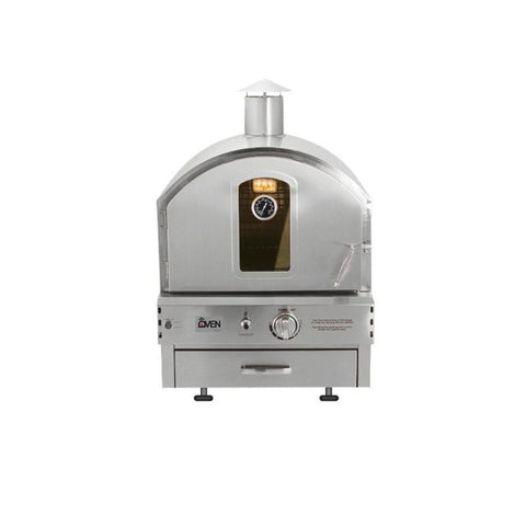 Summerset Built-In or Countertop Outdoor Gas Pizza Oven with Feet Out SS-OVBI