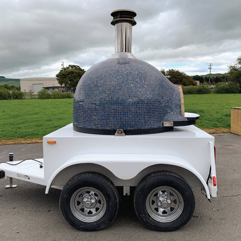 Forno Piombo Wood Fired Pizza Oven Food Truck Trailer