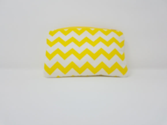 Ines Collection-Coin Purse-Yellow/White