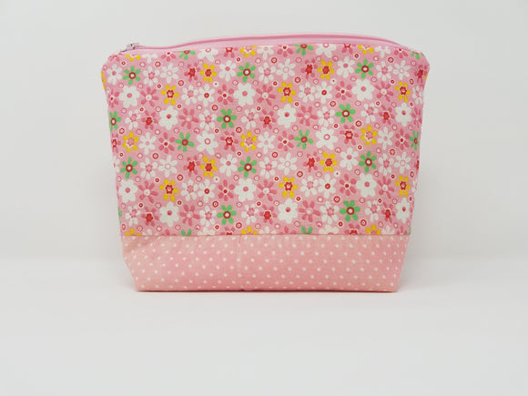 Savannah Collection-Make Up Bag-Peony/Floral
