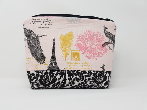 Paris Collection-Make Up Bag-Pink