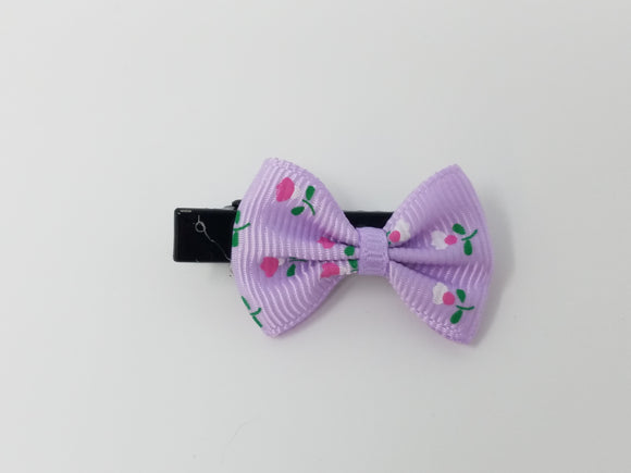Mini Hair Bow-Flowers-Many designs available