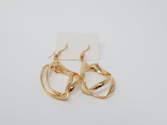 Tangled Hoop Earrings-Other colors available