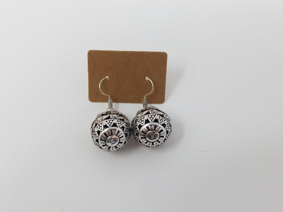 Spherical Aztec Earrings