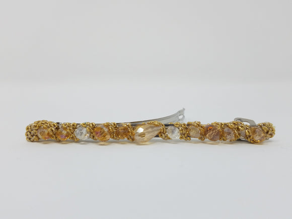 Thin Beaded Barrette-other colors available