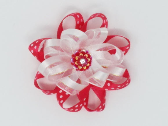 Hair Bows-Flower Garden-Many styles available