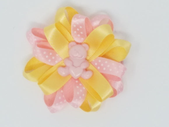 Hair Bows-Cute As A Button-Many designs available