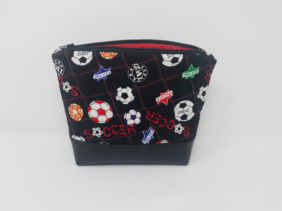 Soccer Collection-Make Up Bag