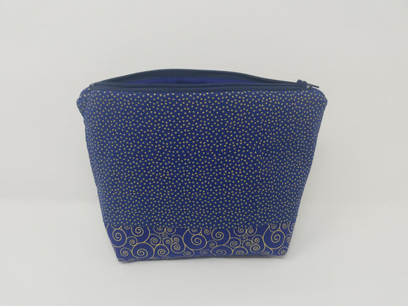 Ella Collection-Make Up Bag-Dots