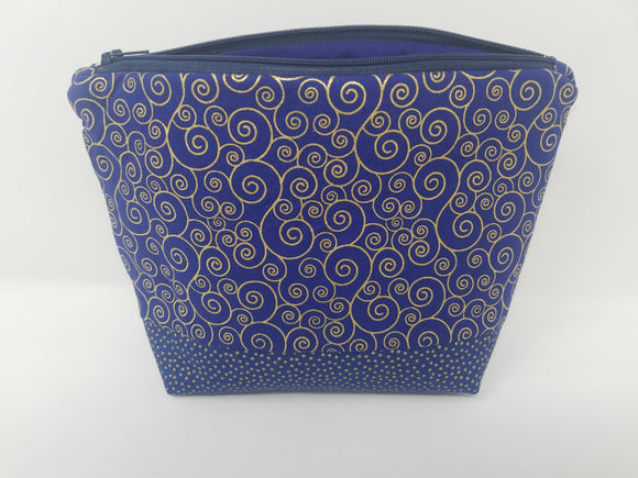 Ella Collection-Make Up Bag-Swirls