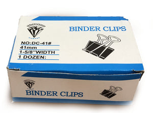 Binder Clip 1 - 5/8 41MM