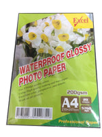 EXCEL Glossy Photo Paper 200gsm