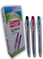 FLAIR Q-Max Retractable Ballpen Black, Blue, Red