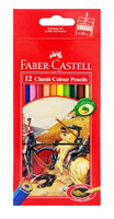 FABER CASTELL Colored Pencil x 12 Long