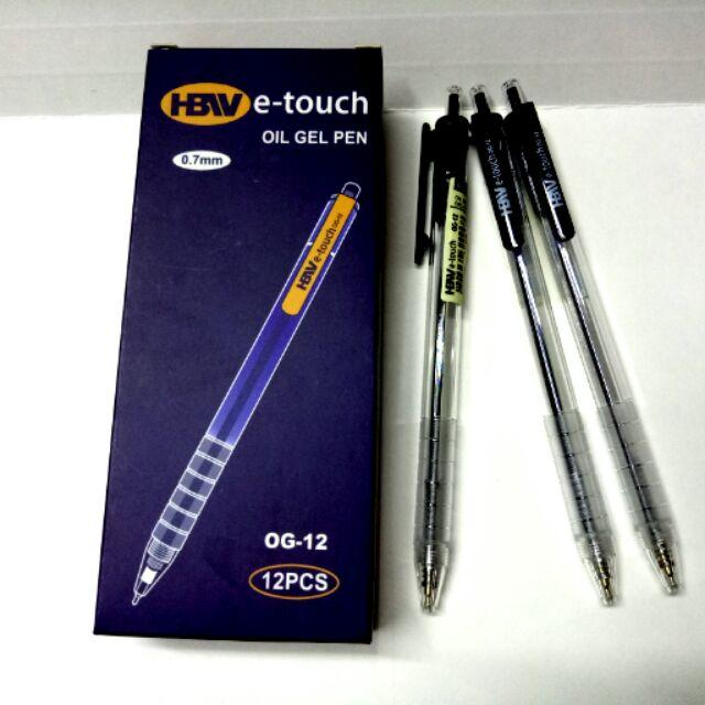 HBW E-Touch Ballpen Black, Blue, Red